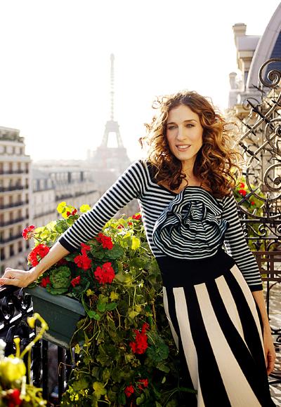 Carrie's Sonia Rykiel Stripes