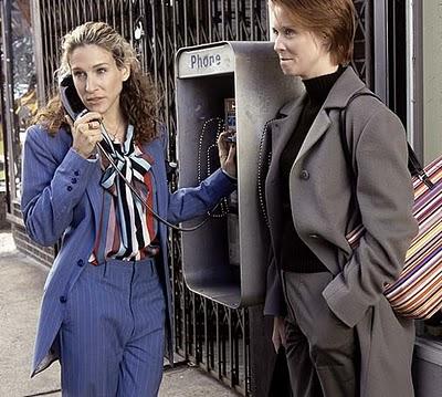 Carrie Bradshaw Suit