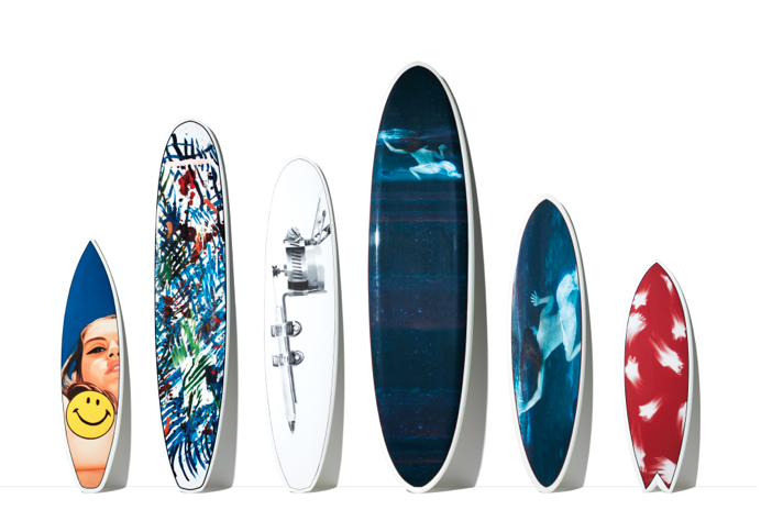 Tommy Hilfiger Limited-Edition Surfboards