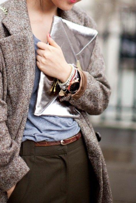 Tweed Blazers & Metallics