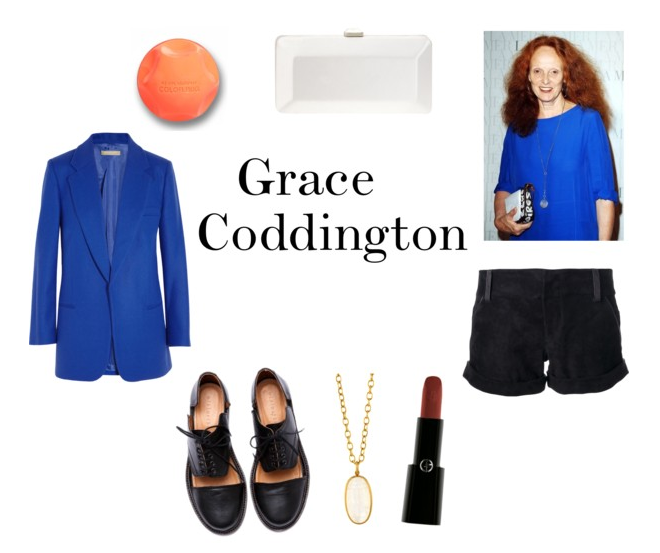 Grace Coddington Costume