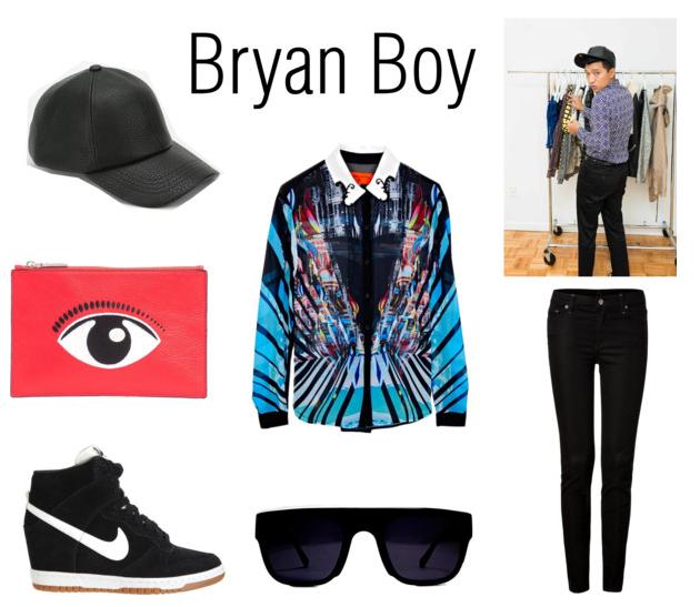Bryan Boy Costume