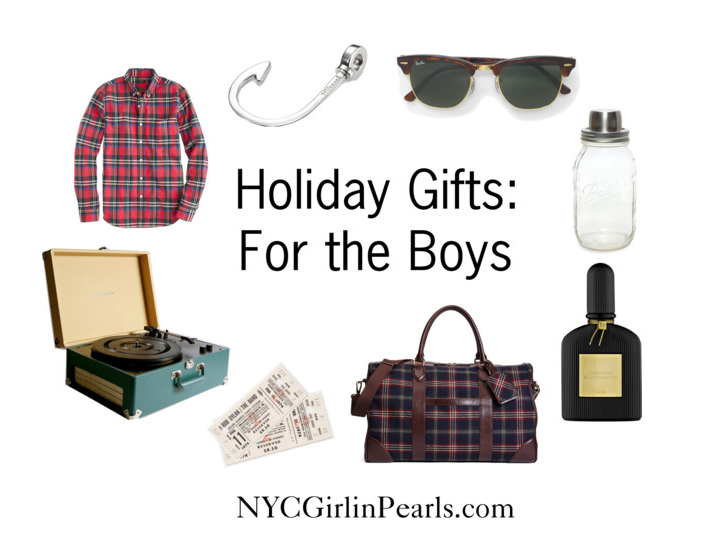 Holiday Gifts: For the Boys 2013