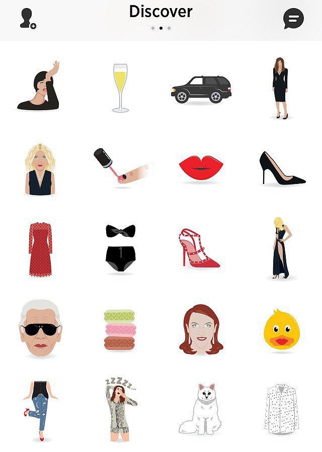 Harper's Bazaar Fashion Emojis