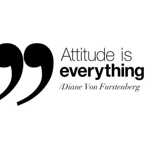 DVF Attitude Quote