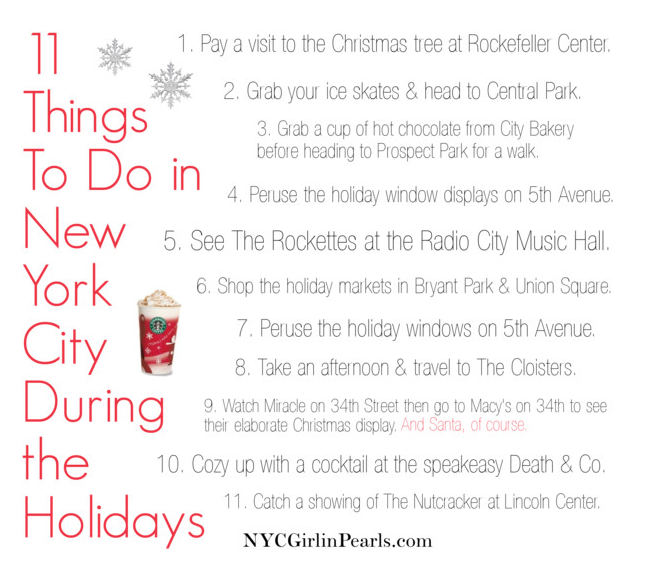 11 things to do in new york city during the holidays